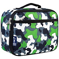 image of Wildkin Camo Lunch Box in Green