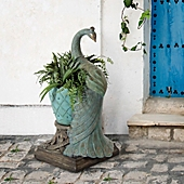 image of Bombay® Outdoor Royal Peacock Planter in Jade