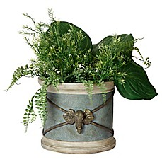 image of Bombay® Outdoor Raja Elephant Planter in Jade