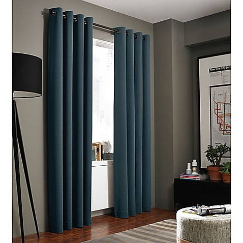kenneth cole curtains kenneth cole reaction home bryant park grommet top window 124