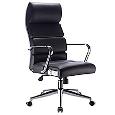 image of X Rocker Deluxe Executive Office Chair with Sound in Black/Chrome