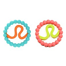 image of chewbeads® Baby Zodies Leo Teether