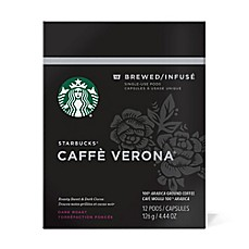 image of Starbucks® Verismo™ 12-Count Caffe Verona® Brewed Coffee Pods