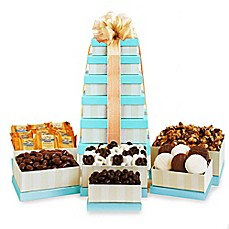 image of California Delicious Golden State Sweets Gift Tower