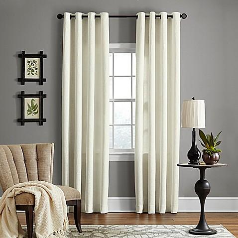 Veratex brooklyn linen grommet window curtain panel bed for Brooklyn linen stores