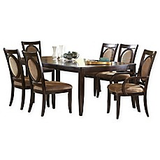 image of Steve Silver Co. Montblanc Extension Dining Table in Cherry