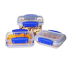 image of Sistema® Klip IT™ 3-Piece Baby Pack Food Containers