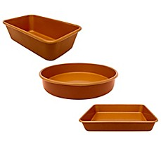 image of Gotham™ Steel Ti-Cerama™ Nonstick Copper Bakeware Collection