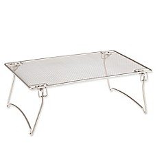 image of .ORG™ Bathroom Stacking Shelf in Matte Nickel