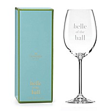 kate spade new york Uncorked Belle of the Ball™ Wine Glass