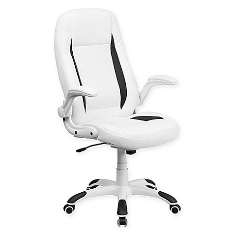 Buy Flash Furniture Mid Back Faux Leather Executive Office