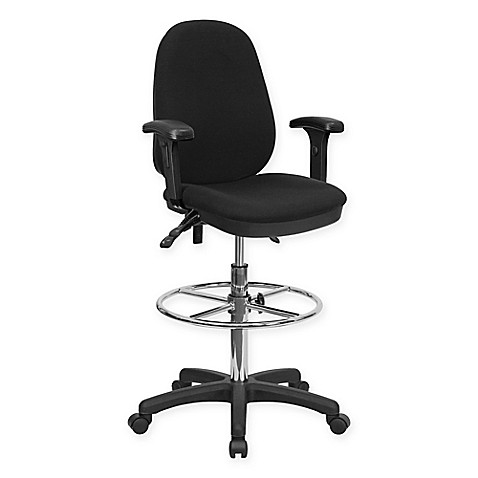 Flash Furniture Multi Functional Ergonomic Drafting Chair