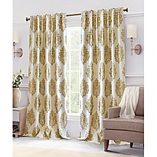 ivory curtains dh faux pleat polyester off dp piece com white panel set drapes color pair long silk puckered amazon inches pinch inch