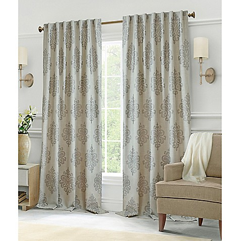 Buy Hillston 63 Inch Lined Back Tab Window Curtain Panel