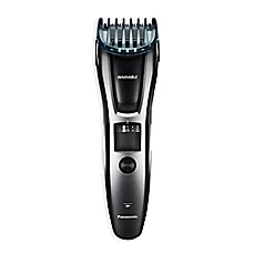 image of Panasonic's Men's Beard, Hair and Mustache Trimmer in Black