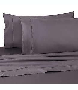 Sábana plana queen Wamsutta® Dream Zone® de 725 hilos en gris