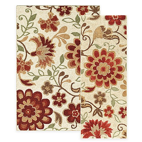 Harper Floral Rug Bed Bath Amp Beyond