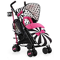 image of Cosatto Supa Stroller in Golightly 2 Pink/Black