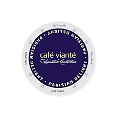image of 16-Count Cafe Viante® Parisian Delight Gourmet Coffee for Single Serve Coffee Makers