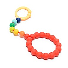 image of chewbeads® Baby Gramercy Teether Stroller Toy in Rainbow