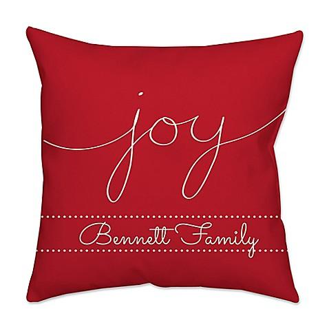Joy Throw Pillow : Buy
