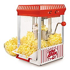 image of Nostalgia™ Electrics Vintage Collection™ 2.5 oz. Kettle Popcorn Popper in Red