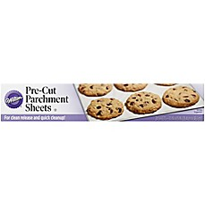image of Wilton 24-Piece 10-Inch x 15-Inch Parchment Sheets
