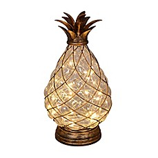 image of 30-Light LED Glass Pineapple