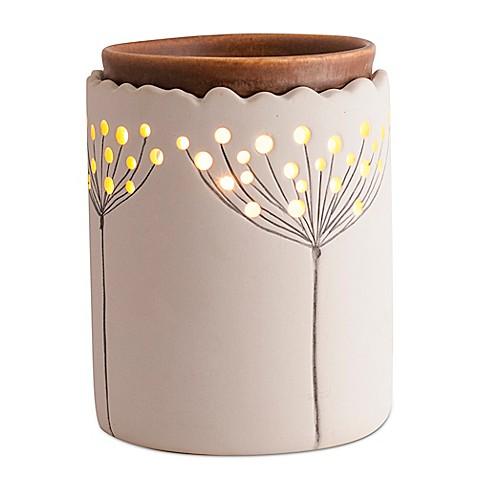 Ambiescents Dandelion Ceramic Wax Warmer Bed Bath Amp Beyond