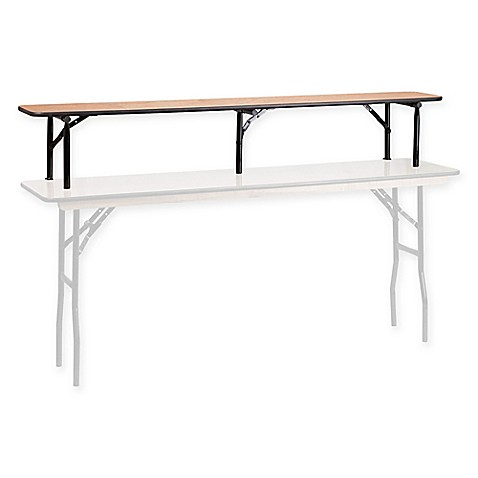 Buy Flash Furniture 72 Inch Bar Top Riser With Black Legs From Bed Bath Beyond