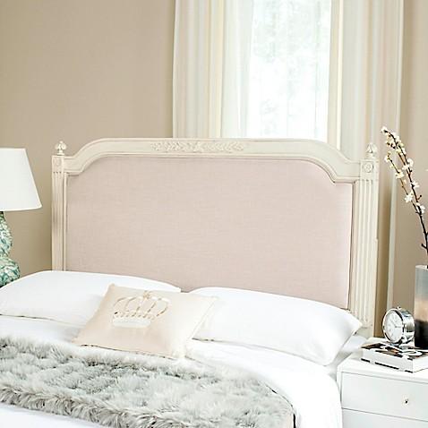 Buy Safavieh Rustic Wood Upholstered Queen Headboard In