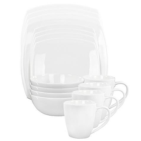 Oneida® Moda 16-Piece Dinnerware Set - Bed Bath & Beyond