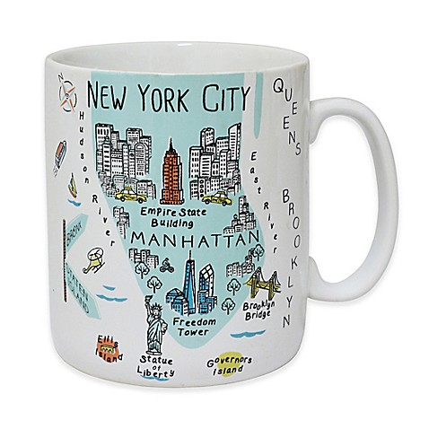 "My Place ""New York City"" Jumbo Mug"