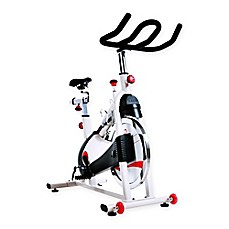 image of Sunny Health & Fitness Belt Drive Premium Indoor Cycling Bike