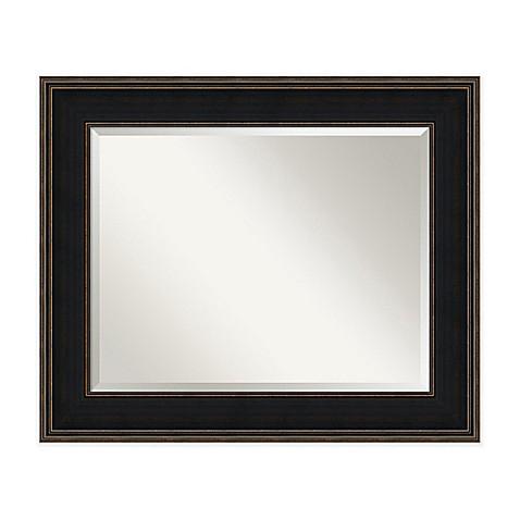 36 inch x 30 inch mezzanine mirror in espresso bed bath for Mirror 30 x 36