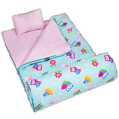 Olive Kids Birdie 3-Piece Sleeping Bag Set in Pink