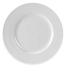 Everyday White® by Fitz and Floyd® Rimmed Dinner Plates in White (Set of  sc 1 st  Bed Bath u0026 Beyond & Open Stock Dinner Plates Appetizer Plate Sets | Bed Bath u0026 Beyond