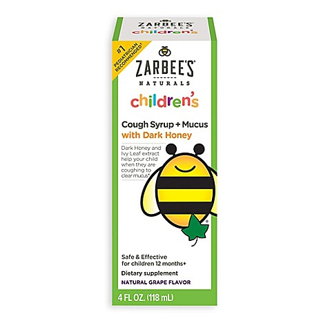 Zarbee S 174 4 Oz Naturals Baby Cough Syrup Mucus In