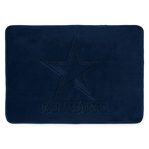 Nfl Dallas Cowboys Memory Foam Rug By The Northwest Bed