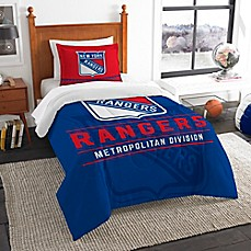 image of NHL 2-Piece Draft Twin Comforter Set