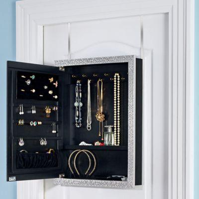 Door Solutions Over The Mirror Jewelry Organizer