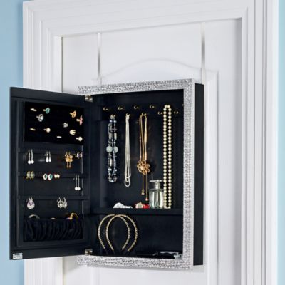 Over the Door Mirrors Storage Mirrors Jewelry Organizers