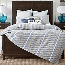 image of Coastal Living Coastal Stripe Quilt Set