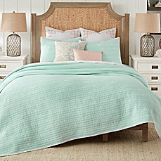 image of Coastal Living® Sand Script Quilt Set