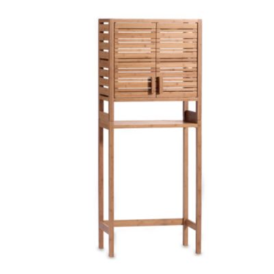 Bamboo Space Saver with Two Doors Bed Bath Beyond