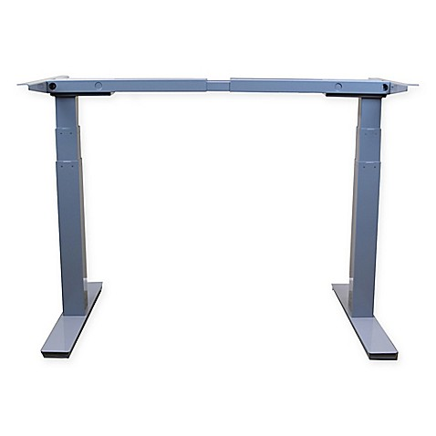 Rise Up Electric Adjustable Height Standing Desk Frame In