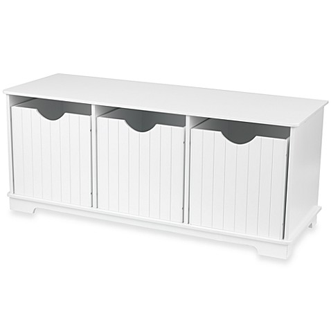Kidkraft Nantucket White Storage Bench Bed Bath Beyond