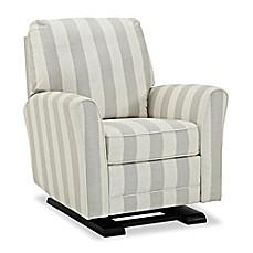 image of bebe confort raine gliding recliner in greystripe