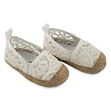image of Rising Star™ Girls Eyelet Espadrille in White