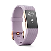 image of Fitbit® Charge 2™ Wireless Activity Wristband in Rose Gold